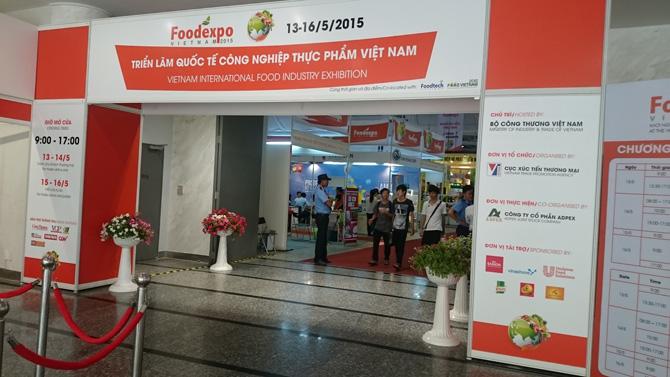 Tham dự hội chợ triển lãm quốc tế thực phẩm
