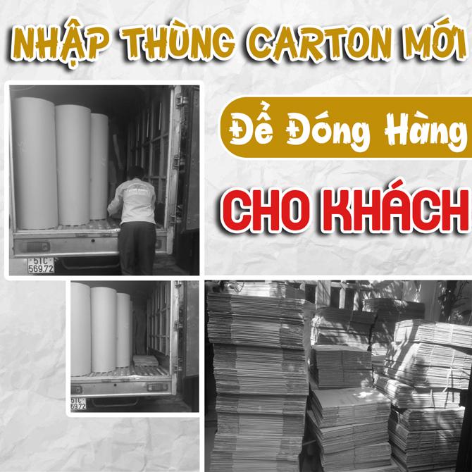 Bstar Nhập Xe Thùng Carton Mới Để Đóng Hàng Cho Khách