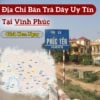 Mua Tra Day Tai Vinh Phuc