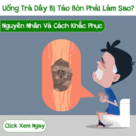 Uong Tra Day Bi Tao Bon Thi Phai Lam Sao